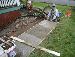 rachel creates sidewalk from thin air